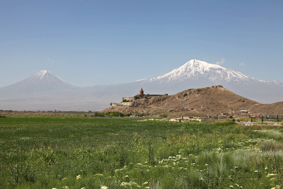 Khor Virap Monastery and Mount Ararat