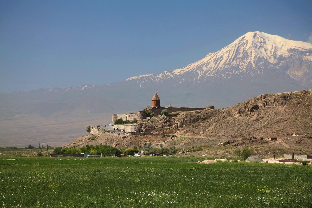 Խոր Վիրապ – the Armenian Monaster of Khor Virap with Արարատ – Mount Ararat