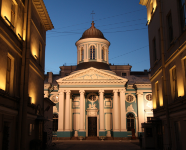 Church in Saint Petersburg