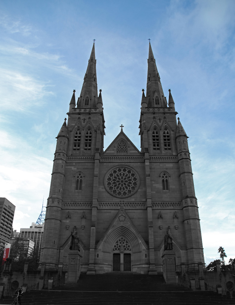 Saint Mary's Cathedral in Sydney Australia