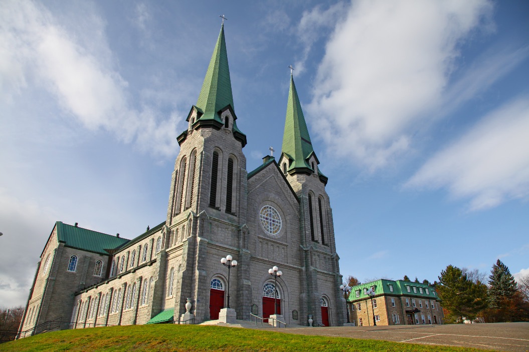 Cathedral of the Immaculate Conception in Edmundston in New Brunswick in Canada