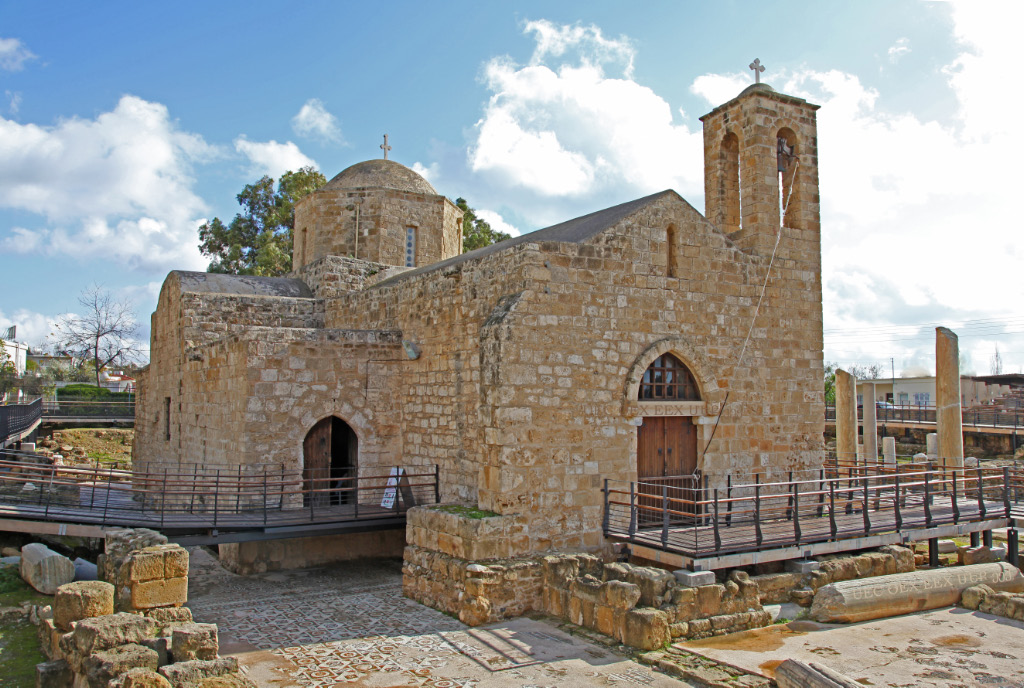 panagia_chrysopolitissa_church in Paphos