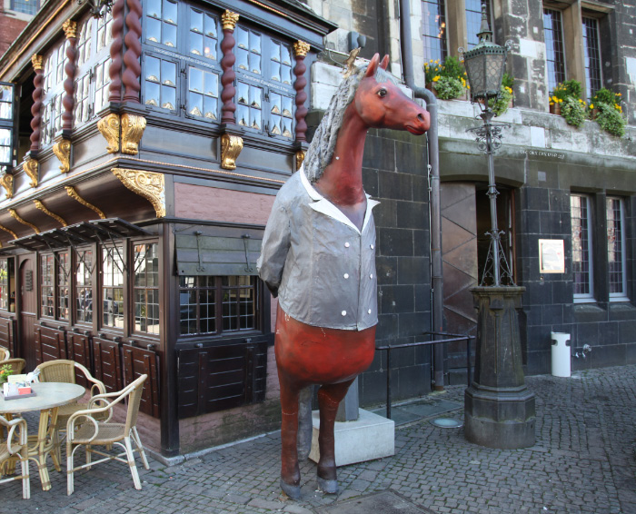 Horses, the best waiters in Germany