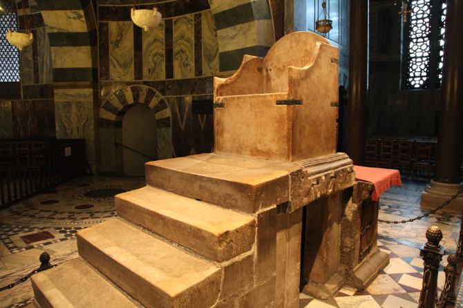 the Throne of Charlemagne in Aachen Cathedral