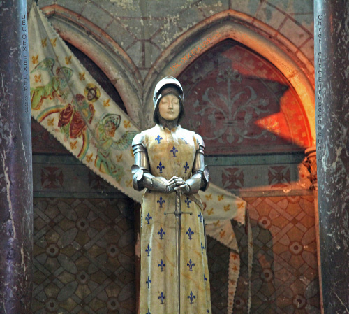 Joan of Arc Reims Cathedral