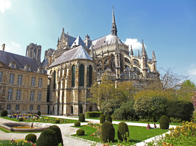 Cathedral of Notre Dame de Reims chevet