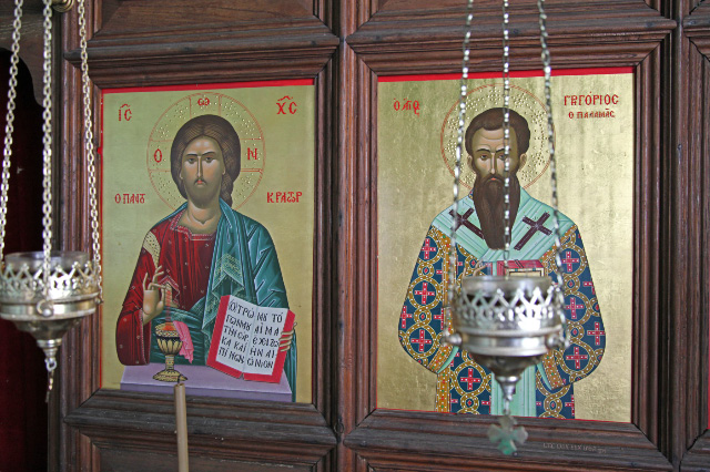 uec_gr_athos_near_ great _  lavra  _skete_  palamas _and_ eucharist _icon