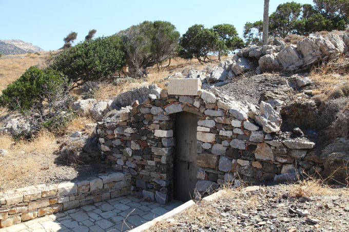 Saint Paul's resting place in Kaloi Limenes Crete