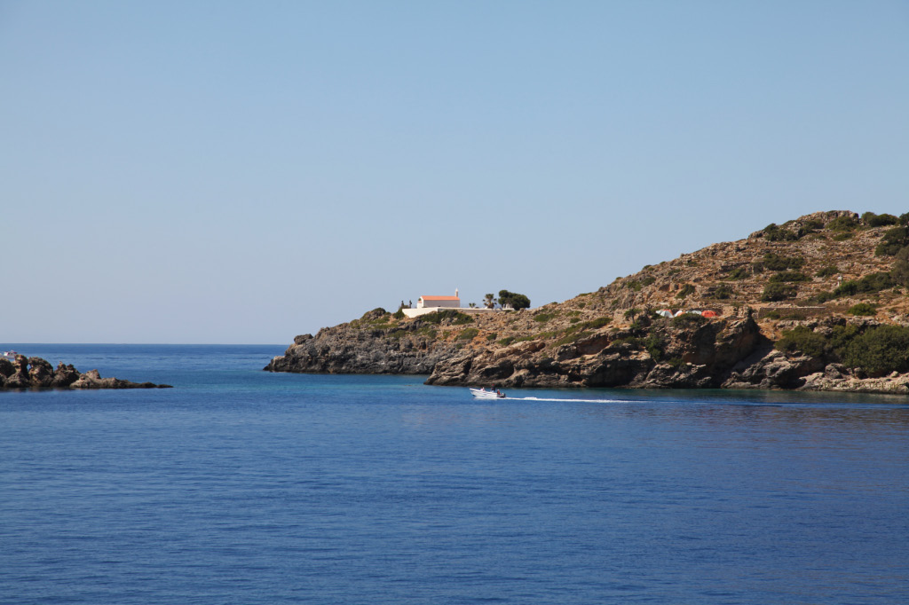 Phoenix now called Loutro with Church and sea