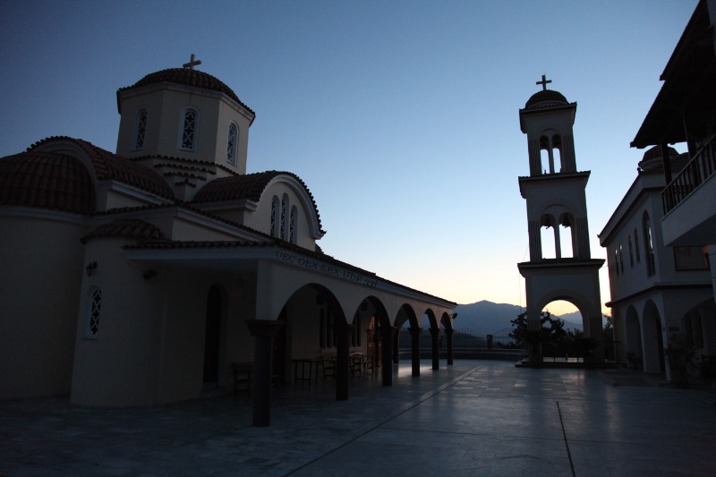 Monastery of the Holy Spirit at Spili Crete