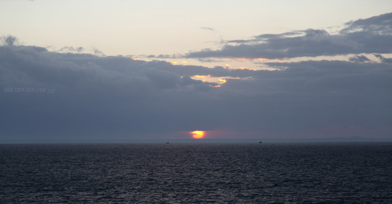 Sunset on Gulf of Patras
