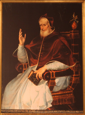 Pope Saint Pius V