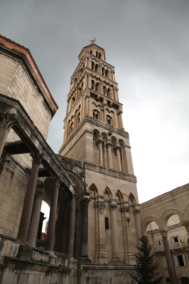 Split Cathedral with Bell Tower