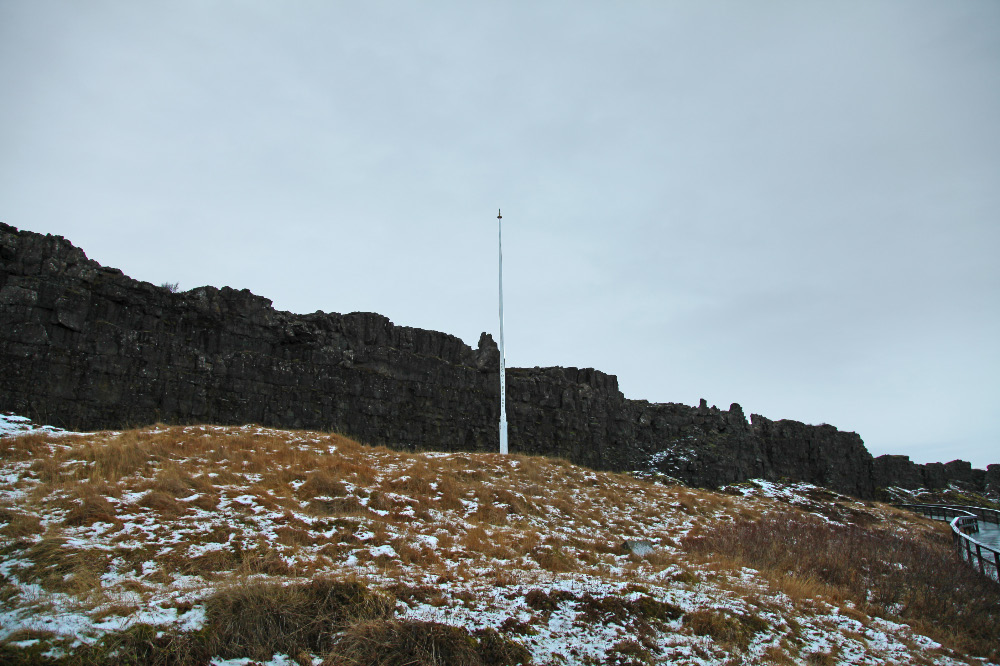 Lögberg – Law Rock at Þingvellir – Thing Fields