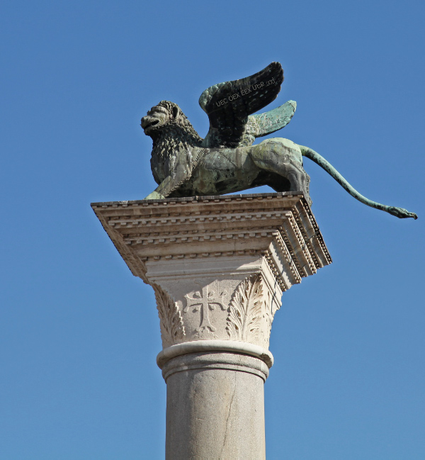 The Lion of Saint Mark in Venice