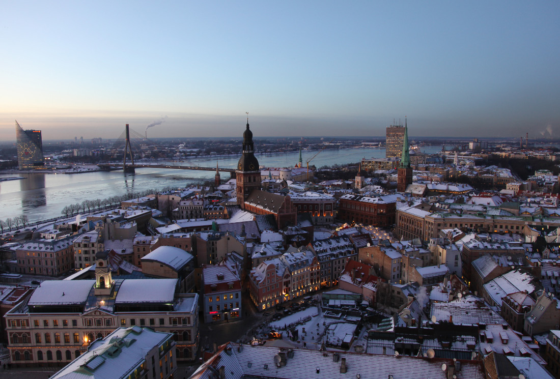 Riga and rive