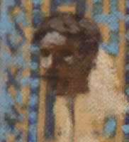 Christian head as trophy at Samarkand