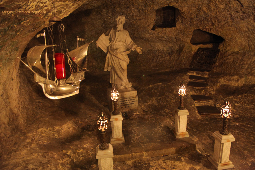 Saint Paul's Grotto in Rabat Malta