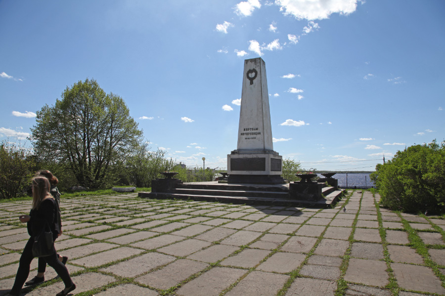 another monument celebrating the failure of the effort to save Russia from Bolshevism