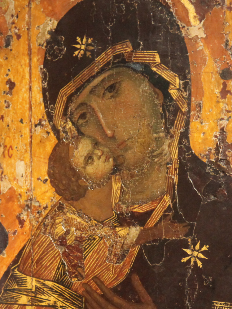 Theotokos of Vladimir Madonna Eleusa Virgin of Tenderness