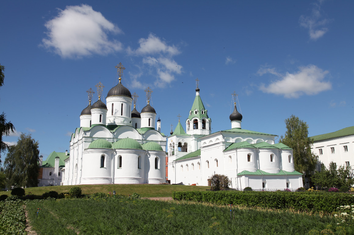 Holy Transfiguration Monastery in Murom – в Спасо-Преображенский монастырь в Муроме