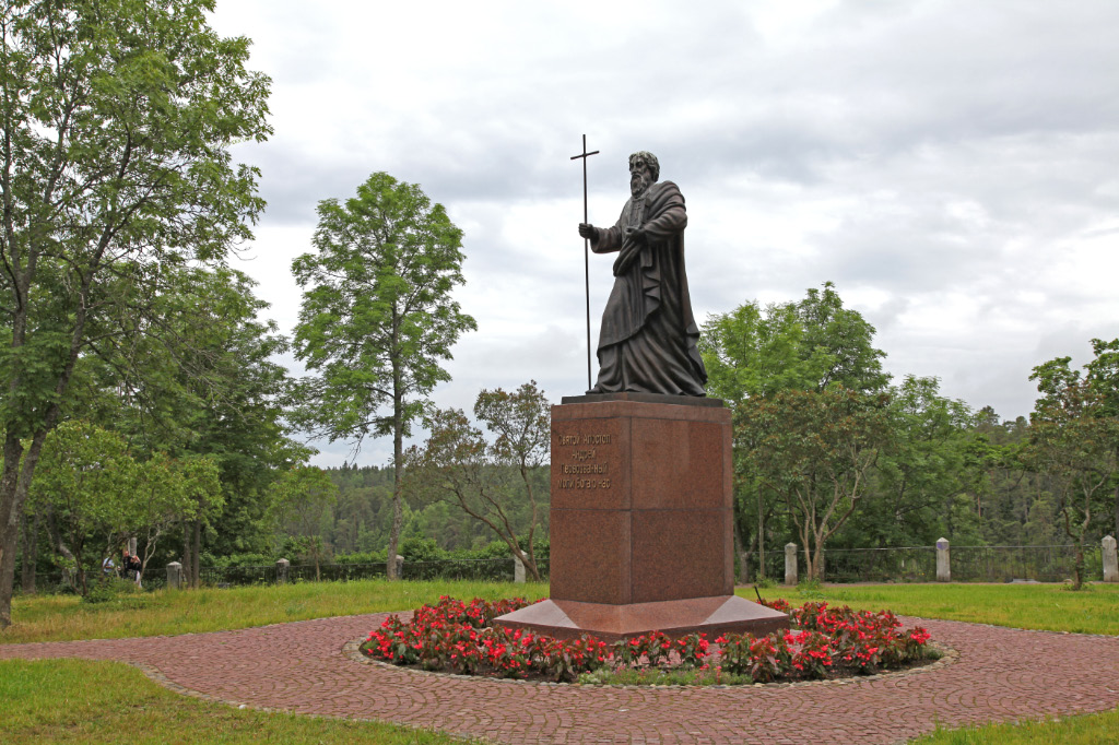 Holy Apostle Andrew at Valaam