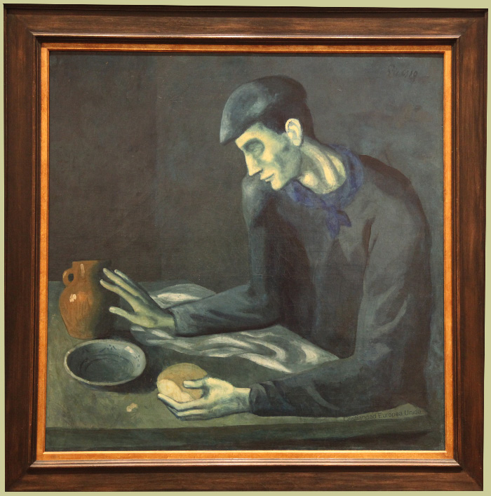 Pablo Picasso's Blind Man's Meal