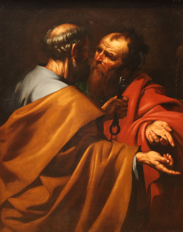 Saints Peter and Paul by Jusepe de Ribera