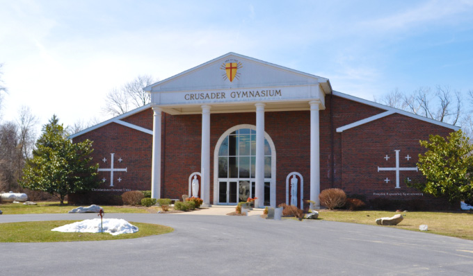 Crusader Gymnasium at Christendom College