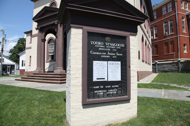 newport_rhode_island_touro_synagogue_sign