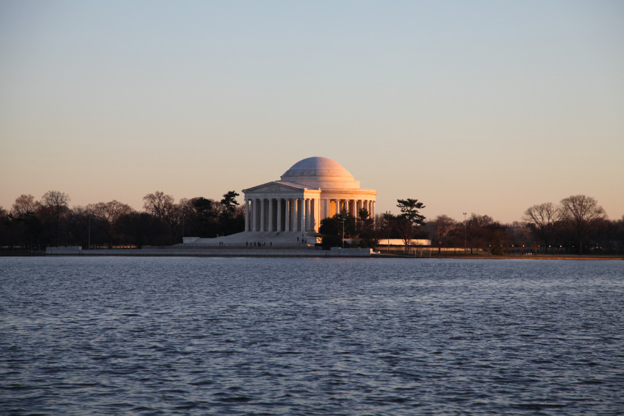 Jefferson Memorial on the Potomac