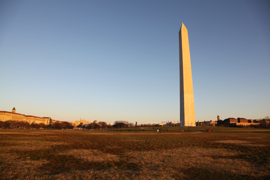 Washington Monument in 2011
