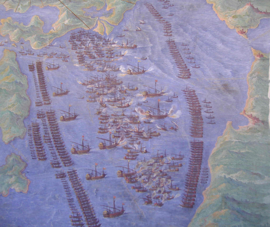 Lepanto work from Vatican