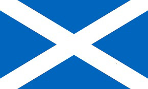 Saint Andrews Cross Flag of Scotland