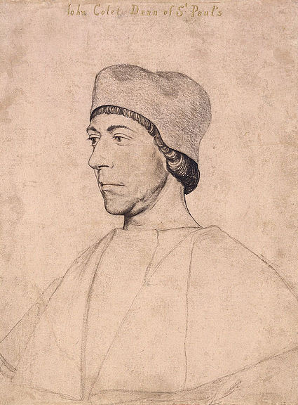 John Colet by Hans Holbein d.J.