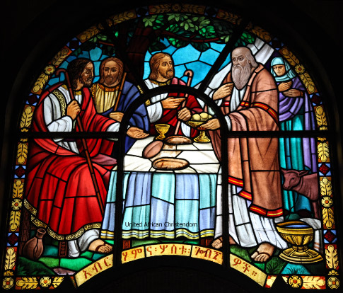 Addis Ababa Cathedral Stained Glass Window