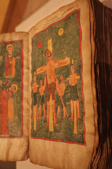 late XIV or early XV century Illuminated Gospel from the Amhara region of Ethiopia