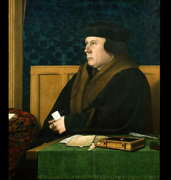 Portrait of Thomas Cromwell by Hans Holbein the Younger in the Frick Collection in New York City